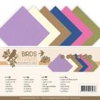 Jeanine´s Art - Pappersblock -  A5 - Birds & Flowers