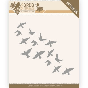 Jeanine´s Art - Dies - Birds & Flowers - Flock of Birds - Jeanine´s Art - Dies - Birds & Flowers - Flock of Birds