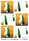 Barto Design - 3D Klippark - Skummande öl