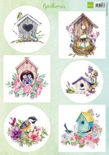 Marianne Design Klippark - Birdhouses - Marianne Design Klippark - Birdhouses