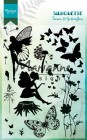 Marianne Design Clearstamps - Silhouette - Fairies & Butterflies