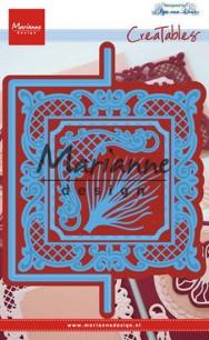 Marianne Design - Dies - Anja´s Vertical Folding die (square) - Marianne Design - Dies - Anja´s Vertical Folding die (square)