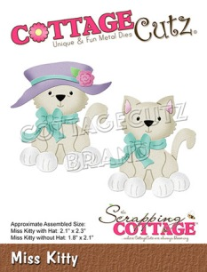 Cottage Cutz Dies - Miss Kitty - Cottage Cutz Dies - Miss Kitty