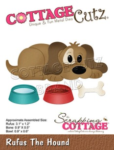 Cottage Cutz Dies - Rufus the Hound - Cottage Cutz Dies - Rufus the Hound