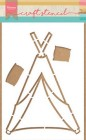 Marianne Design - Craft Stencil - Tipi