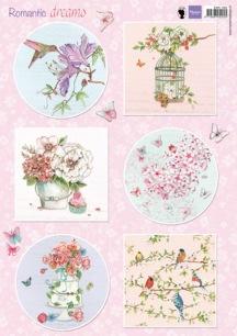 Marianne Design Klippark - Romantic Dreams - Pink - Marianne Design Klippark - Romantic Dreams - Pink