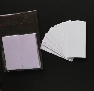 Kortstomme vit 50 pack - Kortstomme vit 50 pack