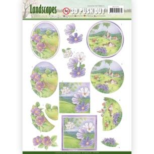 Jeaninés Art 3D Utstansat - Landscapes - Spring Landscapes - Jeaninés Art 3D Utstansat - Landscapes - Spring Landscapes