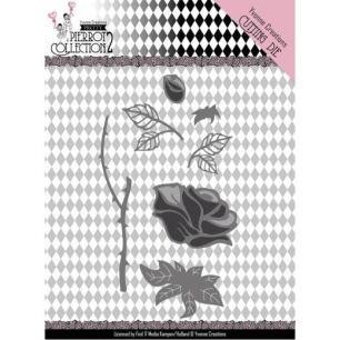 Yvonne Creations Dies - Pretty Pierrot 2 - Rose - Yvonne Creations Dies - Pretty Pierrot 2 - Rose