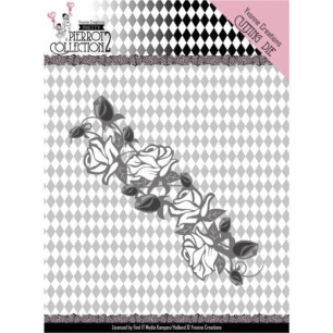 Yvonne Creations Dies - Pretty Pierrot 2 - Rose Border - Yvonne Creations Dies - Pretty Pierrot 2 - Rose Border