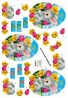 Dan design 3D Klippark - Påskkanin