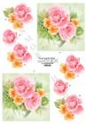 Dan-Quick 3D Klippark - Rosa o gula blommor