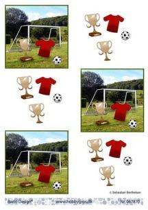 Barto Design - 3D Klippark - Fotboll - Barto Design - 3D Klippark - Fotboll