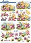 Le Suh - 3D Klippark - Påskkycklingar
