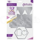 Die - Crafters Companion - Gemini - Hexagon Gift Box