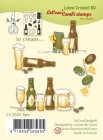 Leane Creative - Clearstamp - Beer