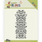 Precious Marieke Dies - Happy Spring - Ribbon Border