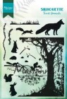 Marianne Design Clearstamp - Silhouette Forrest Animals