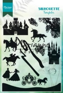Marianne Design Clearstamp - Silhouette Fairytales - Marianne Design Clearstamp - Silhouette Fairytales