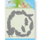 Jeanine´s Art - Dies - Young Animals - Feathers all Around