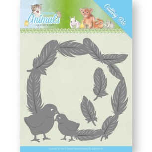 Jeanine´s Art - Dies - Young Animals - Feathers all Around - Jeanine´s Art - Dies - Young Animals - Feathers all Around