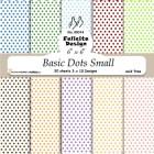 Felicita design - Papper - Basic Dots Small