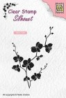 Nellie Snellen - Clearstamps - Branch with flowers