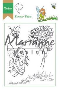 Marianne Design Clearstamp - Hetty´s Flower Fairy - Marianne Design Clearstamp - Hetty´s Flower Fairy