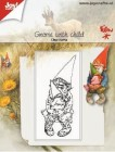 Joy Crafts - Clearstamp - Gnome with child
