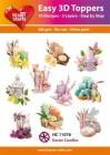 Easy 3D Utstansat - Easter Candles