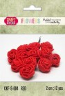 Craft & You - Fuchsia foam roses - Red