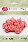 Craft & You - Fuchsia foam roses - Peach