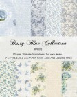 Reprint - Pappersblock - Dusty Blue Collection