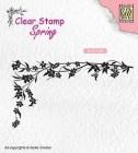 Nellie Snellen - Clearstamps - Floral Corner-1
