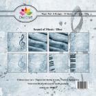 Dixi Craft Pappersblock - Sound of Music/Blue
