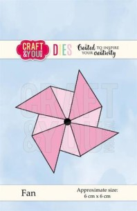 Craft & You - Dies - Fan (vindsnurra) - Craft & You - Dies - Fan (vindsnurra)