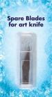 Extrablad till scalpell, lång spets, 10 st