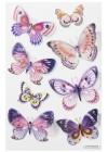 Stickers - Fjärilar, 8 st
