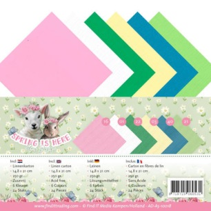 Amy Design - Pappersblock - Spring is here - Amy Design - Pappersblock - Spring is here