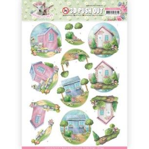 Amy Design 3D Utstansat - Spring is here - Garden Sheds - Amy Design 3D Utstansat - Spring is here - Garden Sheds