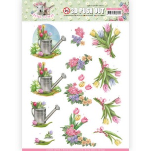 Amy Design 3D Utstansat - Spring is here - Tulips - Amy Design 3D Utstansat - Spring is here - Tulips