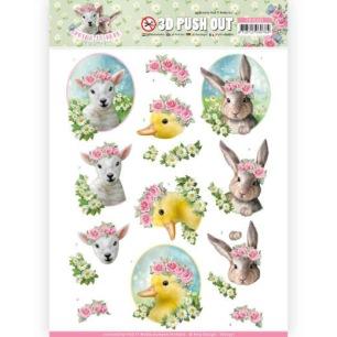 Amy Design 3D Utstansat - Spring is here - Baby Animals - Amy Design 3D Utstansat - Spring is here - Baby Animals
