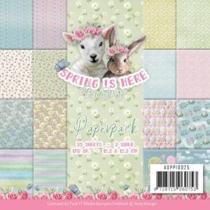 Amy Design Pappersblock - Spring is here - Amy Design Pappersblock - Spring is here