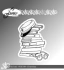 by Lene - Clearstamp - Books & studentcap