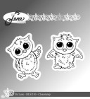 by Lene - Clearstamp - Owls-1