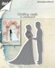 Joy Craft Dies - Wedding couple
