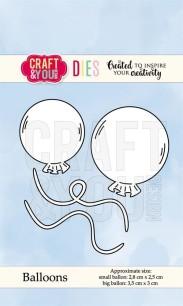 Craft & You - Dies - Ballons - Craft & You - Dies - Ballons