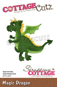 Cottage Cutz Dies - Magic Dragon - Cottage Cutz Dies - Magic Dragon