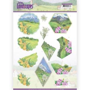 Jeaninés Art - 3D Klippark - Spring Landscapes - Jeaninés Art - 3D Klippark - Spring Landscapes