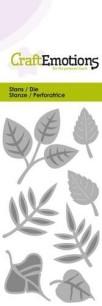 CraftEmotions - Die - Blandade löv - CraftEmotions - Die - Blandade löv